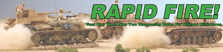 Rapid Fire | Fast Play World War Two Wargaming Rules For Military